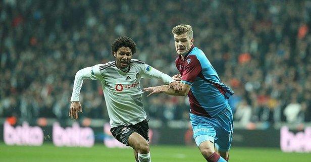 Sörloth Trabzonspor tarihine geçti!