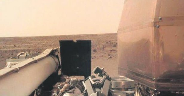 Mars'tan selfie