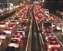 İstanbul trafiğinde 'karne' yoğunluğu!