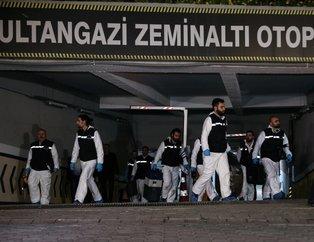 Sultangazide bulunan Konsolosun arabası böyle incelendi