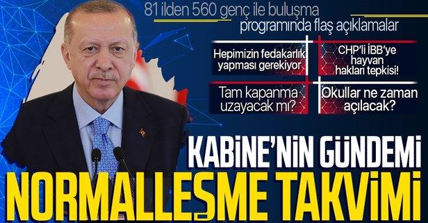 Erdoğan'dan gençlerle buluşmada önemli açıklamalar