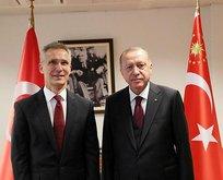 Başkan Erdoğan'dan Stoltenberg ile kritik görüşme