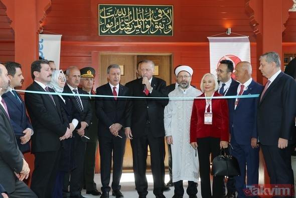 Başkan Erdoğan, ´Çanakkale Şehitler Abidesi Camisi´nin açılışına katıldı