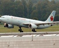 Air Canada uçağında şok olay! Uçakta unutuldu