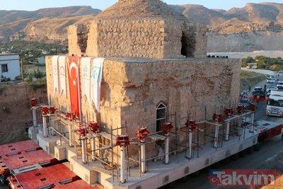 650 yıllık tarihi Artuklu Hamamı taşınıyor
