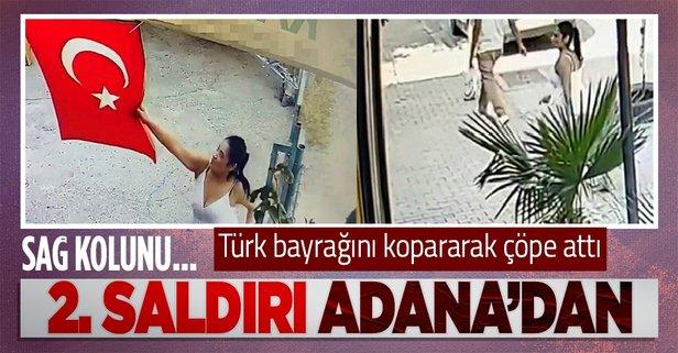 Türk bayrağına ikinci saldırı