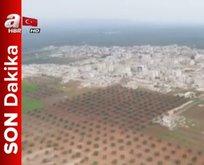 Afrin öncesi en kritik bölge olan Cinderes'ten özel görüntüler