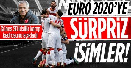İşte Milli Takım'ın 30 kişilik EURO 2020 kadrosu
