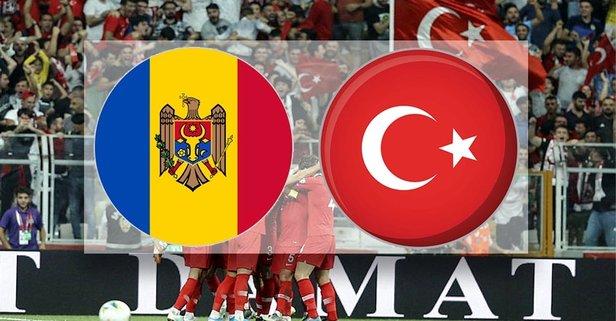 Moldova-Türkiye maçı hangi kanalda?