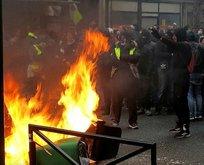 Fransa'da olaylı 1 Mayıs! Çok sayıda gözaltı...