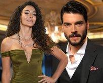 Hercai'nin çekici güzeli Ebru Şahin ile Akın Akınözü arasında...