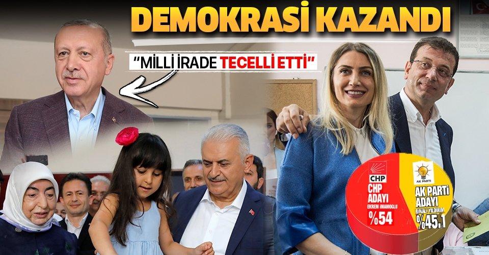 İstanbul'da demokrasi kazandı