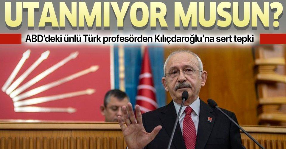 Amerika'daki Türk Prof. Mehmet Çilingiroğlu'ndan Kılıçdaroğlu'na sert tepki