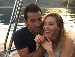 Sinem Kobal'dan eşi Kenan İmirzalıoğlu'na 60 bin liralık hediye!