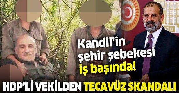 HDP'li vekilden tecavüz skandalı