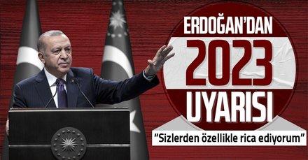 Başkan Erdoğan'dan belediye başkanlarına uyarı
