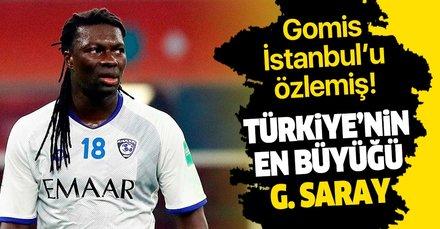 Bafetimbi Gomis: Türkiye'nin en büyüğü Galatasaray