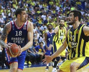 A.Efes-Fenerbahçe 5. kez karşı karşıya