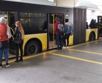 Metrobüste yeni dönem! Bugün başladı
