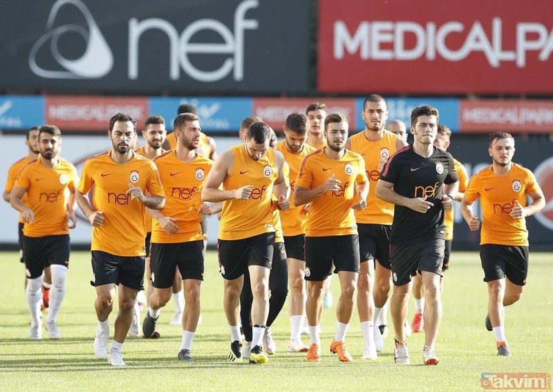 Galatasarayın Aytemiz Alanyaspor maçı muhtemel 11i