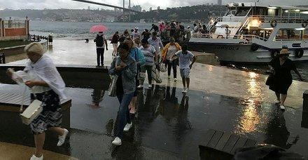Son dakika: Meteorolojiden sonra AKOMda alarma geçti! İstanbul için sağanak yağış ve sel uyarısı! İstanbul hava durumu ve yol durumu