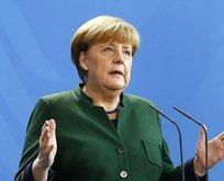 Merkel, AB iddialarına noktayı koydu!