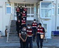Kayseri'de HTŞ operasyonu: 6 gözaltı