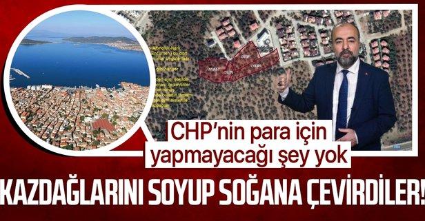 Kazdağları CHP katliamına uğruyor!
