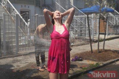 Rekor sıcaklıklar dünyayı kavuruyor