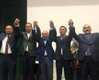 CHPli başkan istifa etti, AK Partiye katıldı