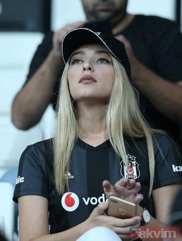 Vodafone Park'ta güzeller geçidi! I Beşiktaş - Yeni Malatyaspor maçından kareler