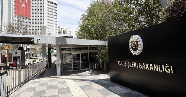 Türkiye'den o saldırıya şiddetli kınama