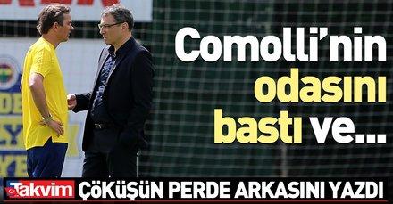 Cocu Comolli'nin odasını bastı | Fenerbahçe'nin çöküş hikayesi...