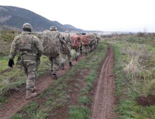 Mehmetçik sınırı böyle geçti! İşte Zeytin Dalı Harekatı'ndan son fotoğraflar