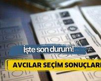 23 Haziran Avcılar İstanbul seçim sonuçları