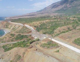 Hatay'da Samandağ-Arsuz sahil yolunda sona doğru! 2,5 saatlik yol 40 dakikaya inecek