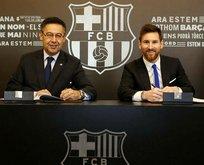 Messi rekora imza attı