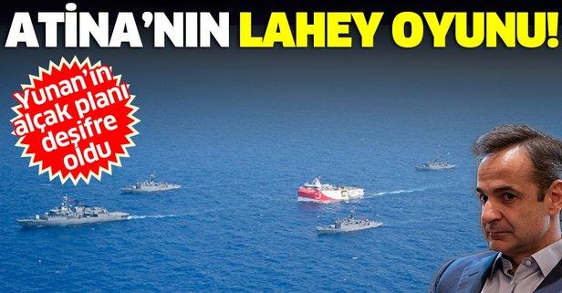 Yunanistan'ın Lahey oyunu