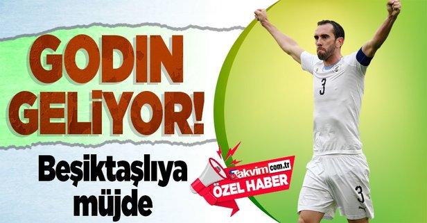 Godin Beşiktaş için koptu geliyor!