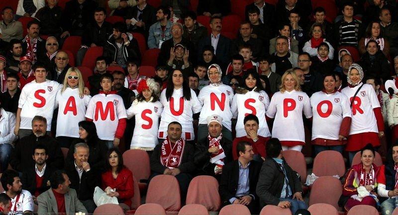Samsunspor Süper Lig'de