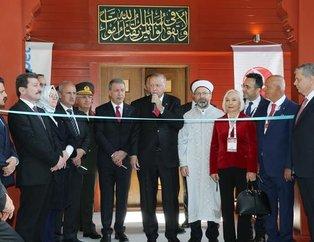 Başkan Erdoğan, 'Çanakkale Şehitler Abidesi Camisi'nin açılışına katıldı