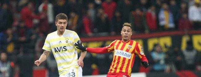 Fenerbahçe 87'de yıkıldı | Kayserispor 1-0 Fenerbahçe