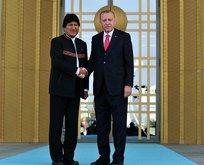 Bolivya Devlet Başkanı Ankara'da