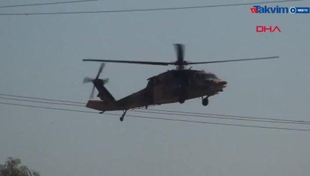 Son dakika: Suriye sınırında helikopter hareketliliği (Video)