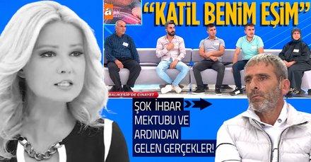 Müge Anlı 'bence sen gözetim altına alınmalısın' dedi canlı yayında 'isimsiz ihbar mektubu'nu açıkladı! Mustafa Kut'un katili o isim