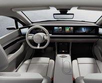 Sony elektrikli otomobilini tanıttı! Dikkar çeken benzerlik