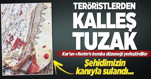 Teröristlerden kalleş tuzak