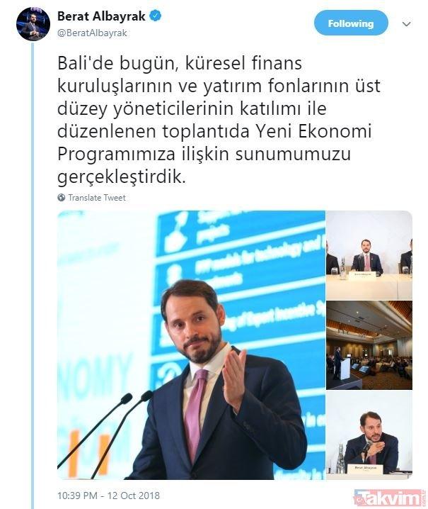 Bakan Albayrak: Görevi Türkiye olarak devraldık