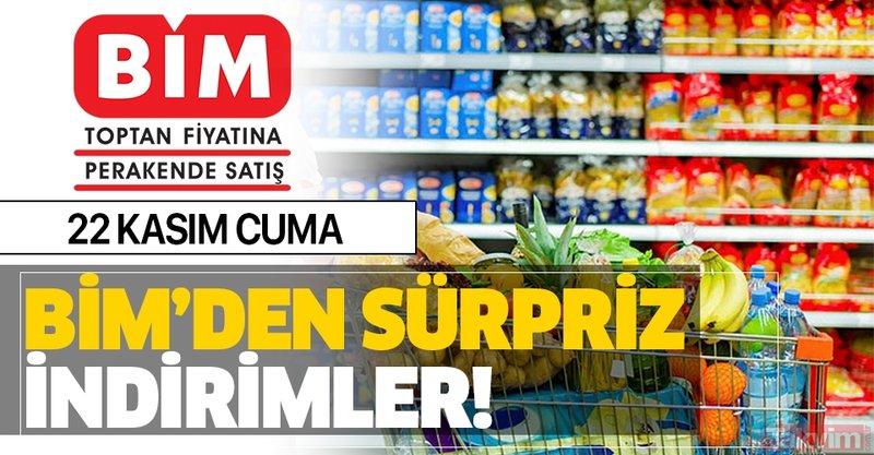 22 Kasım BİM aktüel ürünleri yine dolu dolu! Cuma günü BİM'de hangi ürünler indirimli satılacak?