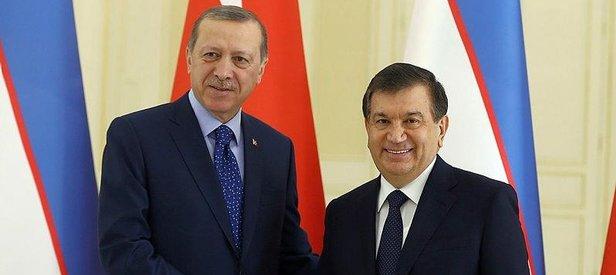 Özbekistan Cumhurbaşkanı geliyor